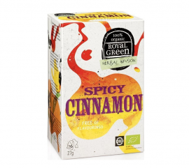 Am Health Royal Green Herbal Infusion Spicy Cinnamon 16 φακελάκια