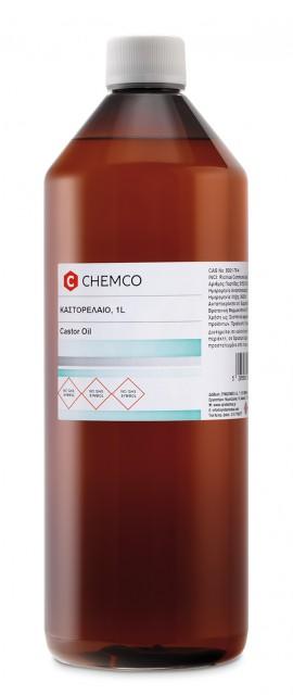Chemco Καστορέλαιο Εξευγεινσμένο 1L