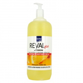 Intermed Reval  Plus Lemon Antiseptic Hand Gel 1Lt