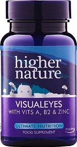 Higher Nature Visual Eyes 30caps