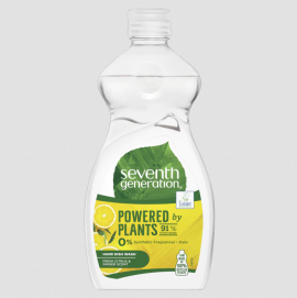 Seventh Generation Powered By Plants Υγρό Πιάτων με Λεμόνι και Ginger 500ml