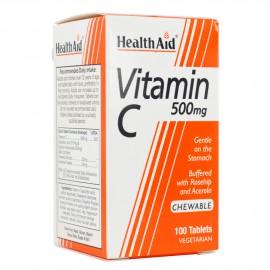 HEALTH AID VIT-C 500MG ΜΑΣΩΜΕΝΗ 100TABS-ECONOMY