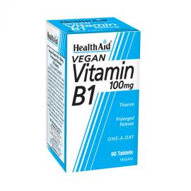 HEALTH AID VITAMIN B1 (THIAMIN HCl) 100mg TABLETS 90s