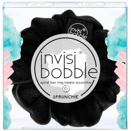 Invisibobble Sprunchie Spiral Hair Ring True Black 1τμχ