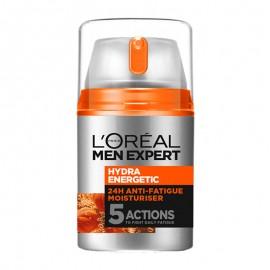 L Oreal Paris Men Hydra Energetic Anti-Fatigue 24ωρη ενυδατική κρέμα,κατά των σημαδιών κούρασης 48ml