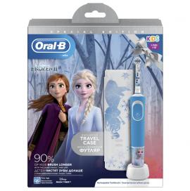 Oral-B Παιδική Επαναφορτιζόμενη Ηλεκτρική Οδοντόβουρτσα Special Edition Frozen 2 Kids 3+ & Θήκη Ταξιδίου 1τμχ