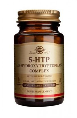 SOLGAR 5-HTP (HYDROXYTRYPTOPHAN) 100MG VEG. 30S