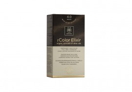 Apivita My Color Elixir kit Μόνιμη Βαφή Μαλλιών 4.0 ΚΑΣΤΑΝΟ