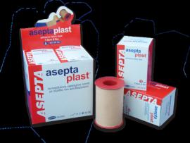 ASEPTA Aseptaplast Ταινίες υφασμένες αυτοκόλλητες 5cmX5m 1τμχ.
