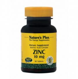 Natures Plus Zinc 10mg 90tabs