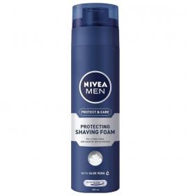 NIVEA MEN Αφρός Ξυρίσματος Protect & Care 250 ml