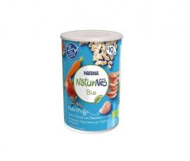 Nestle Naturnes Bio Nutripuffs Βραφικές Μπουκίτσες Δημητριακών με Τομάτα και Καρότο απο τον 10ο Μήνα 35g
