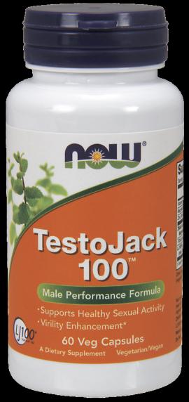 Now Foods Testo Jack 100, 60 Veg.Caps.