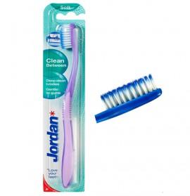 JORDAN Clean Between Sens Οδοντόβουρτσα με Μικροίνες Μαλακή 1τμχ.