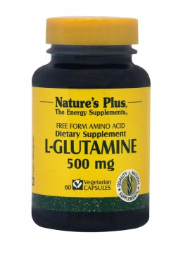NATURES PLUS L-Glutamine 500mg  60vcaps