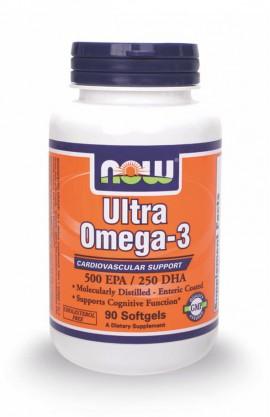 Now Foods Ultra Omega-3 500 EPA/250 DHA 90 Softgels