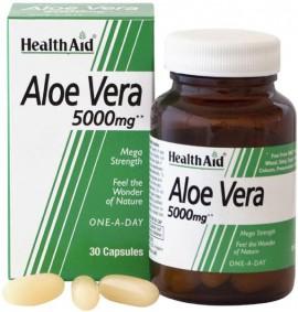 HEALTH AID Aloe Vera 5000mg capsules 30s