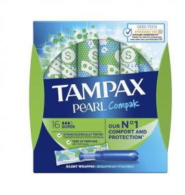 TAMPAX Compak Pearl Super 16τμχ