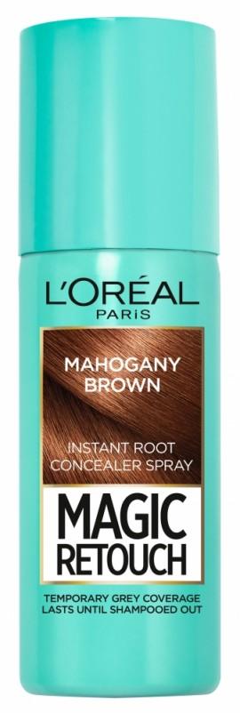 LOreal Paris Magic Retouch Instant Root Concealer Spray 6 Mahogany Brown 75ml
