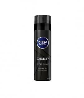 NIVEA MEN Gel Ξυρίσματος Deep 200 ml