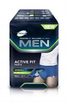 Tena Men Active Fit Pants Large Plus 8τμχ