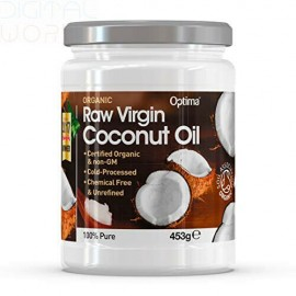 Optima Organic Raw Virgin Coconut Oil 453gr