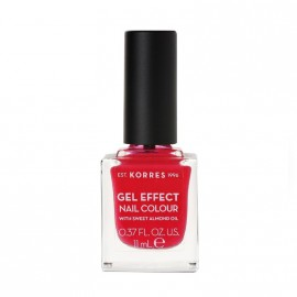 Korres Βερνίκι Νυχιών Gel Effect Nail Colour No19 Watermelon 11ml