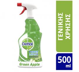Dettol Power & Fresh Advance Αντιβακτηριδιακό Green Apple 500ml