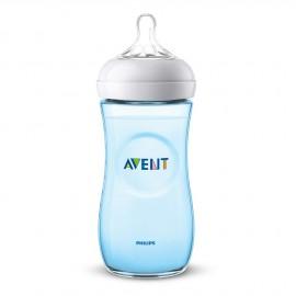 Avent Natural Μπιμπερό 330ml - χωρίς BPA (ΜΠΛΕ) SCF038/17