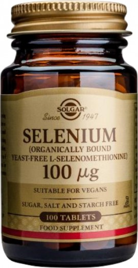 SOLGAR SELENIUM 100MCG 100TAB