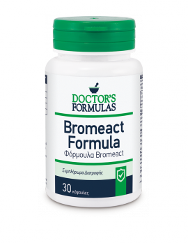 Doctors Formulas Bromeact - Φόρμουλα Αντιφλεγμονώδης 30 κάψουλες