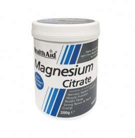 Health Aid Magnesium Citrate Powder 200g
