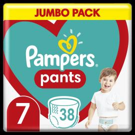 Pampers Pants No.7 (17+ Kg) 38 Πάνες Βρακάκι