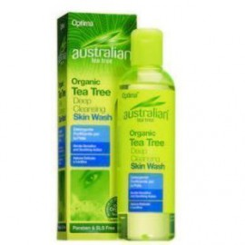 OPTIMA Australian Organic Tea Tree Deep Cleansing Skin Wash 250ml