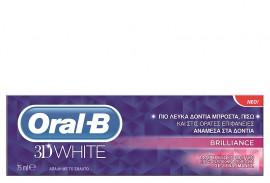 ORAL-B 3D WHITE  BRILLIANCE 75ML