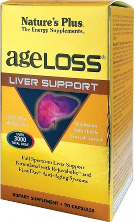 NATURES PLUS AgeLoss Liver Support 90 caps