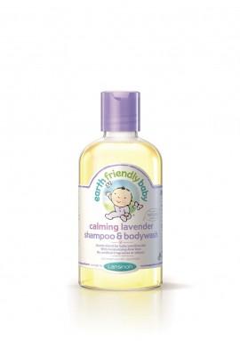 Earth Friendly Baby Soothing Lavender Shampoo & Bodywash 250ml