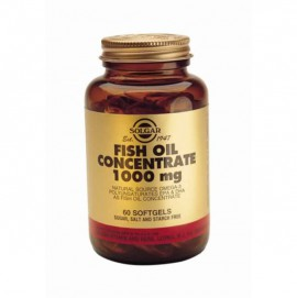 SOLGAR FISH OIL CONCENTRATE 1000MG 60C