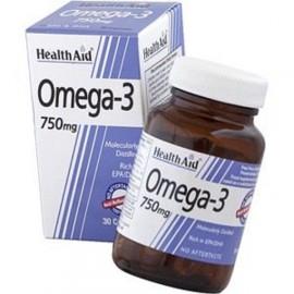 HEALTH AID OMEGA 3 750MG (EPA 425MG, DHA 325MG) CAPSULES 30S