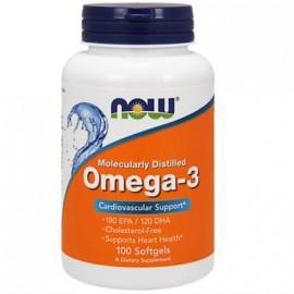 Now Foods Omega-3 180 EPA 120 DHA 1000mg 100 Softgels