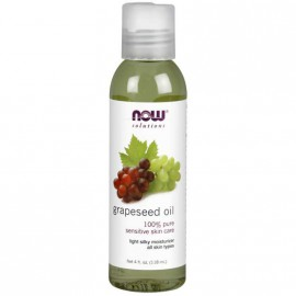 Now Solutions Grapeseed Oil 100% Pure 4 fl.oz.(118ml)