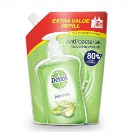 Dettol Soothe Refill Ανταλλακτικό Αντιβακτηριδιακό Υγρό Κρεμοσάπουνο Σακουλάκι Aloe Vera 500ml