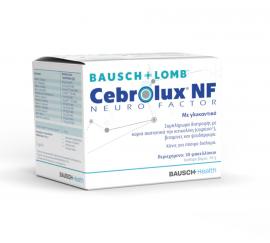 Bausch & Lomb Cebrolux NF Neuro Factor Συμπλήρωμα Διατροφής Για Την Όραση 30 Φακελάκια