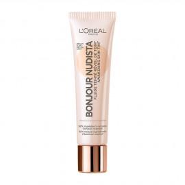 LOreal Paris Bonjour Nudista BB Cream Medium Clair 30ml