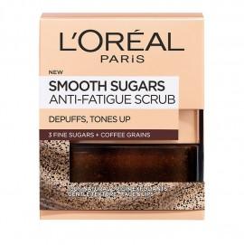 LOreal Paris Smooth Sugars Wake Up Face And Lip Scrub 50ml