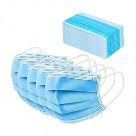 Μάσκα Χειρουργική Προστασίας Προσώπου 3 Στρωμάτων (3-ply) 50τμχ