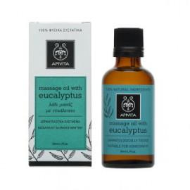 Apivita Massage Oil με Ευκάλυπτο, 50ml