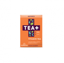 Vitabiotics TEA+ Defence Vitamin Tea με Γεύση Πορτοκάλι & Blueberry 14τμχ