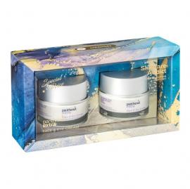 Panthenol Extra Set Face & Eye Cream Αναπλαστική & Αντιρυτιδική Κρέμα Προσώπου & Ματιών 2x50ml