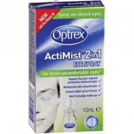 Optrex Actimist Σπρέι 2 σε 1 για Κουρασμένα Μάτια 10ml